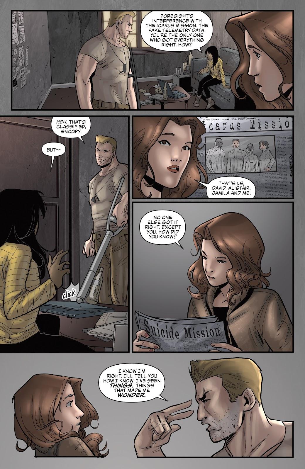 Read online Summit comic -  Issue #12 - 23