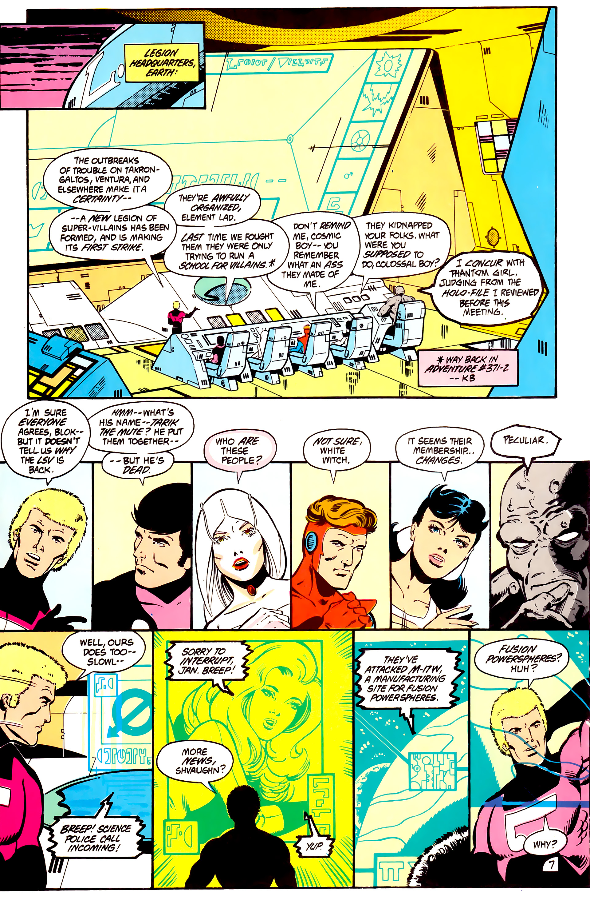 Legion of Super-Heroes (1984) 2 Page 8