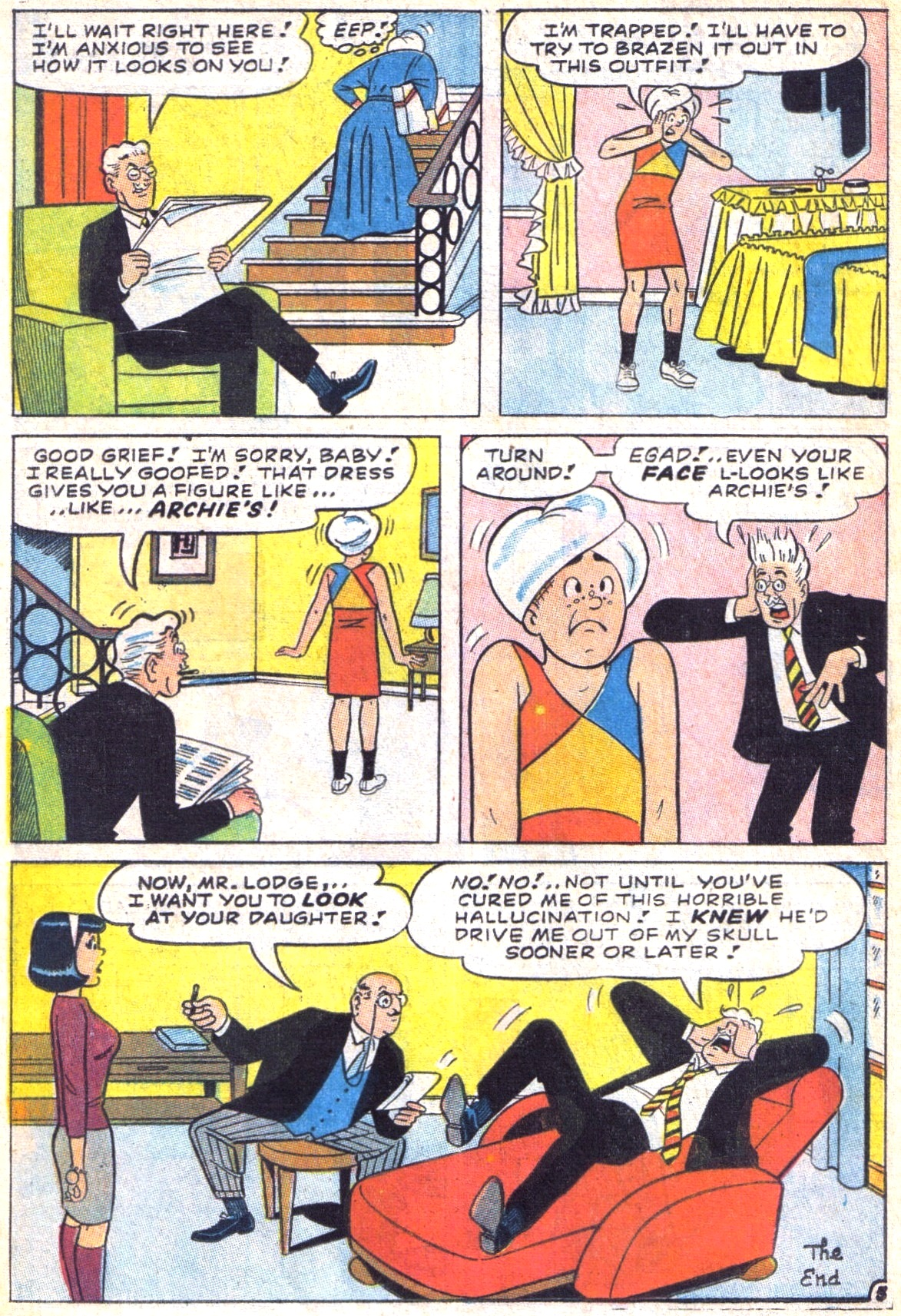 Read online Archie (1960) comic -  Issue #169 - 24