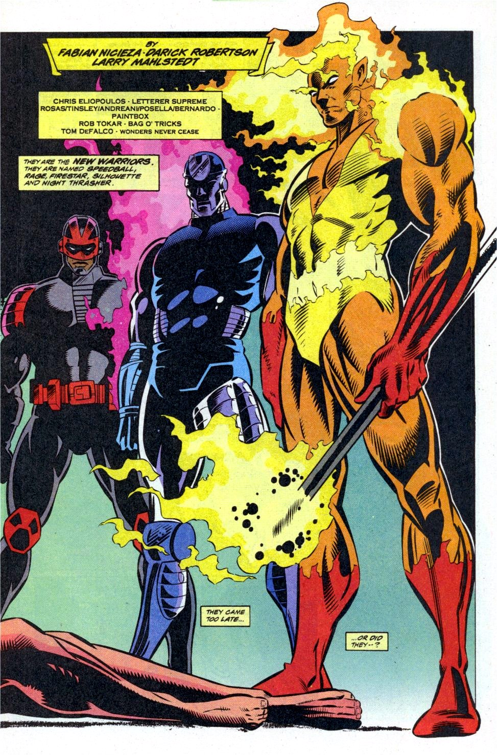 The New Warriors Issue #41 #45 - English 4