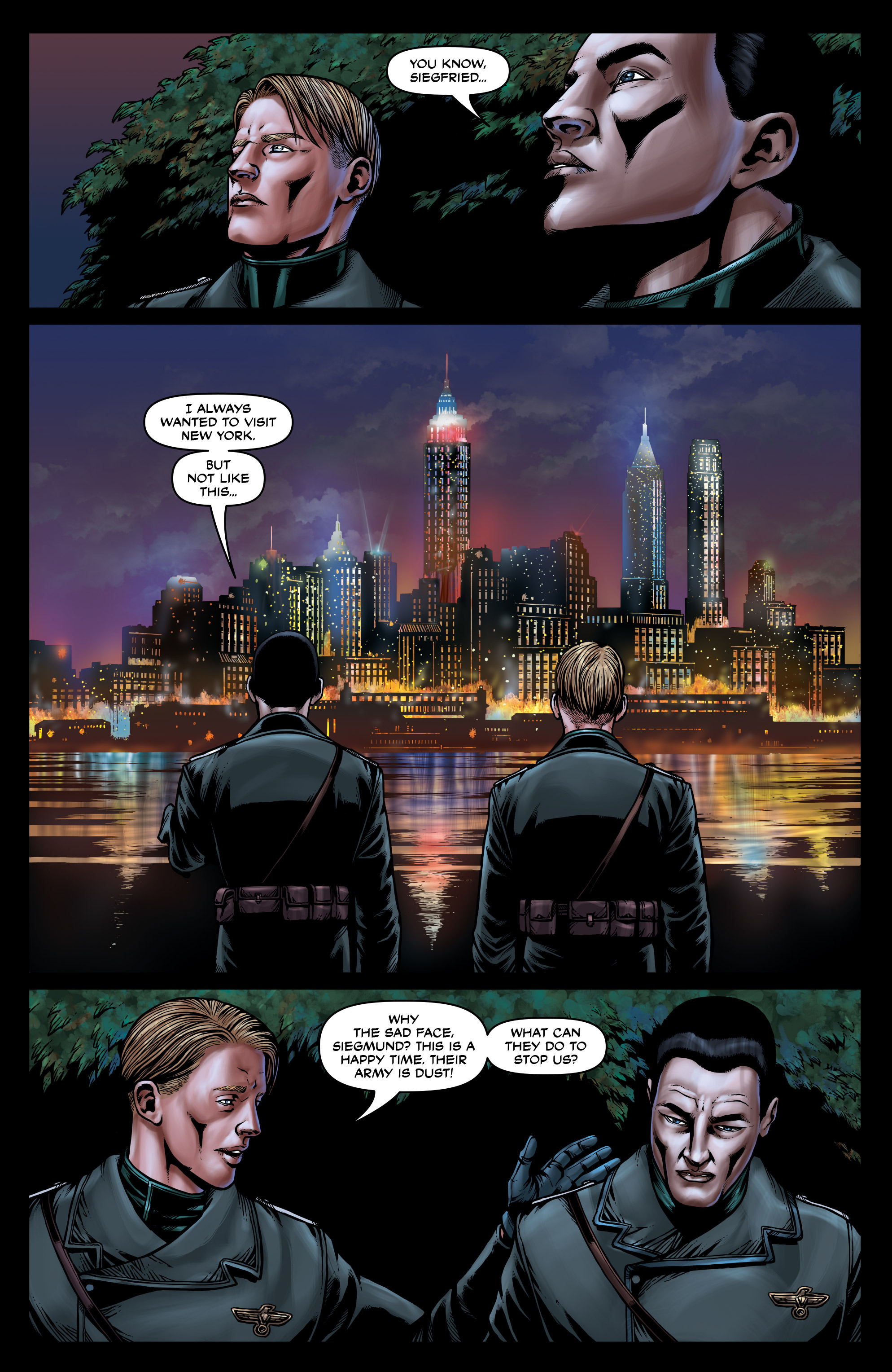 Read online Uber: Invasion comic -  Issue #3 - 21