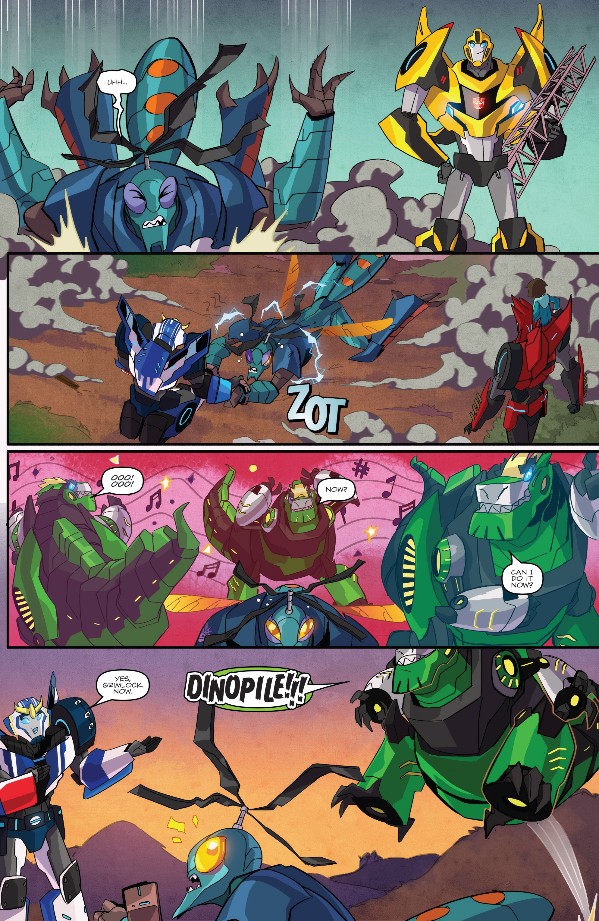 Read online Transformers: Robots In Disguise (2015) comic -  Issue #1 - 19