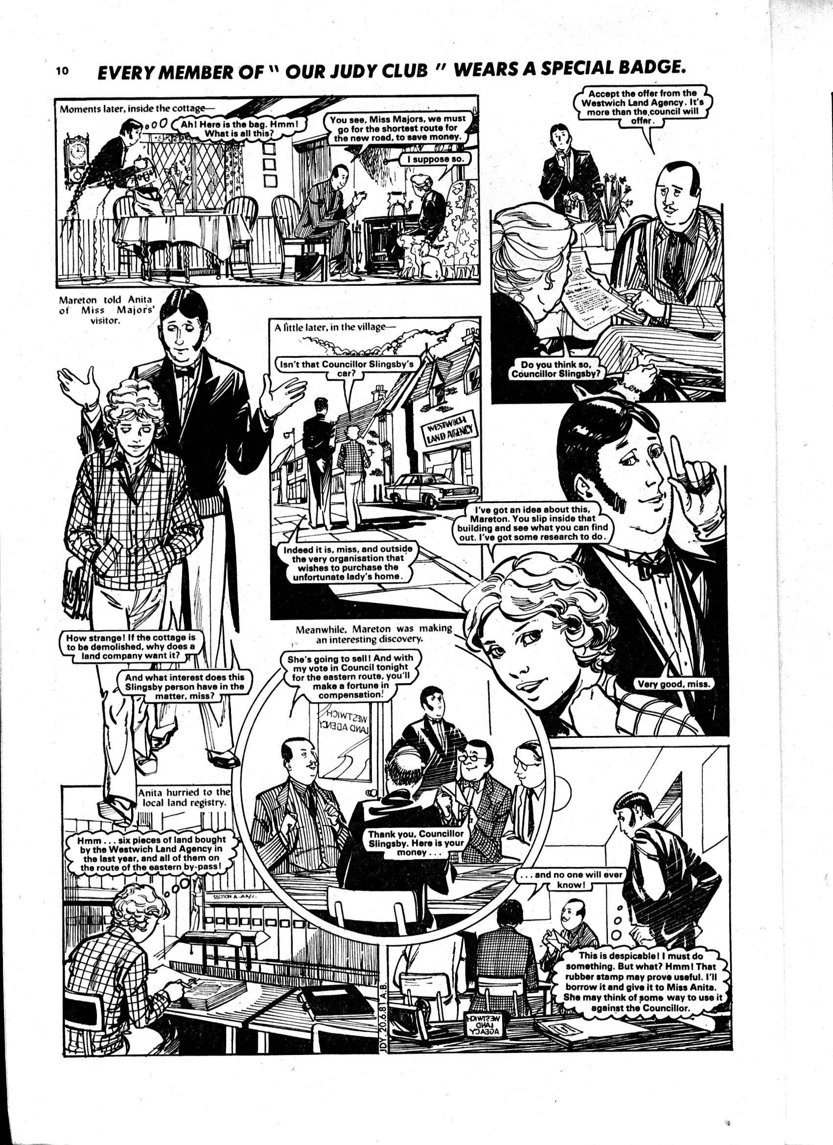 Read online Judy comic -  Issue #1119 - 10