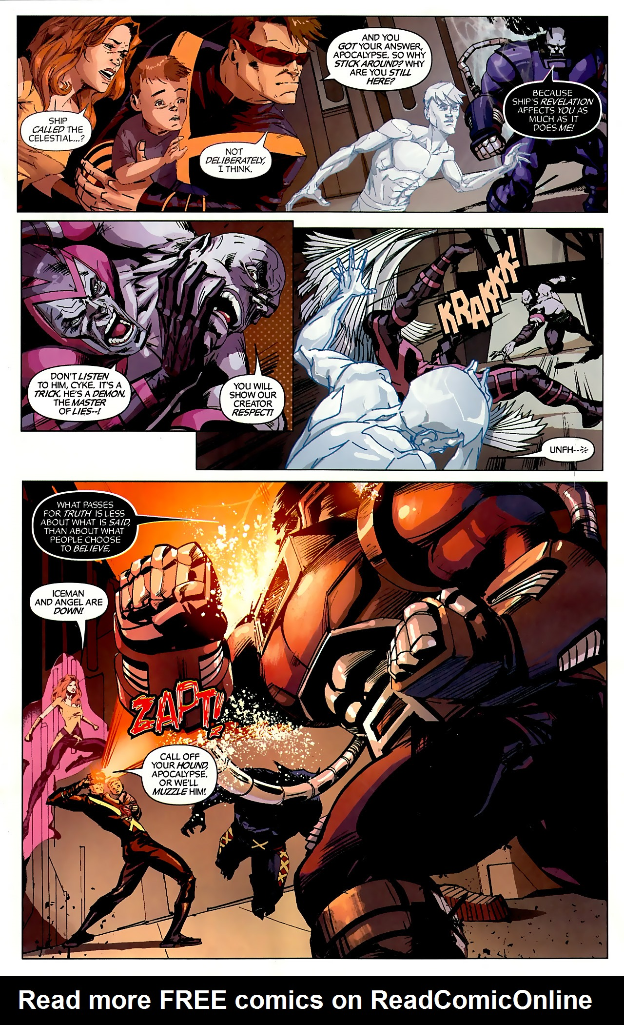 Read online X-Factor Forever comic -  Issue #3 - 11