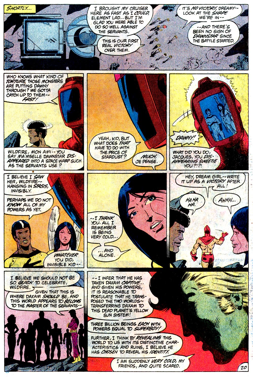 Legion of Super-Heroes (1980) 293 Page 20
