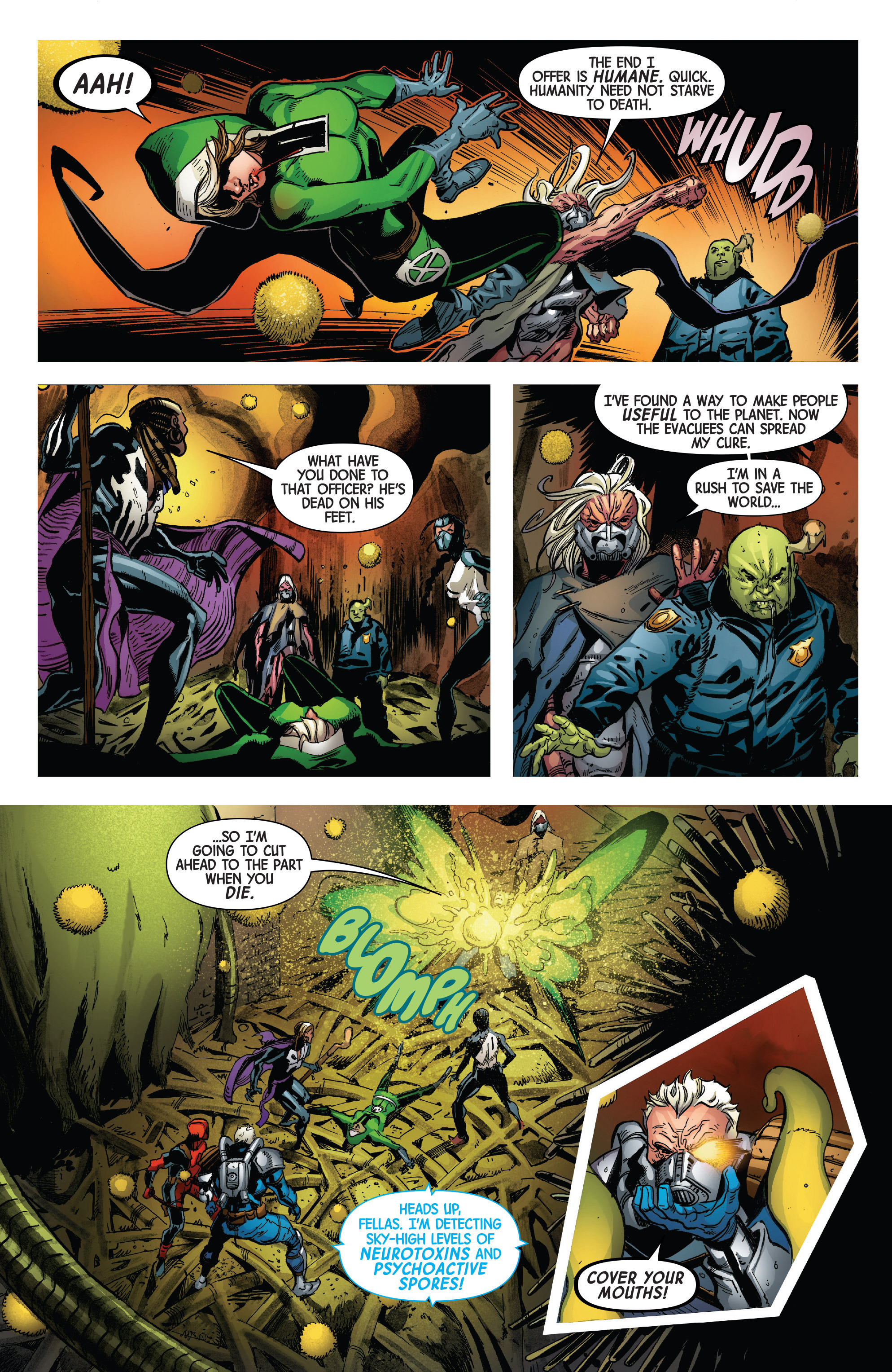 Read online Uncanny Avengers [II] comic -  Issue #3 - 17