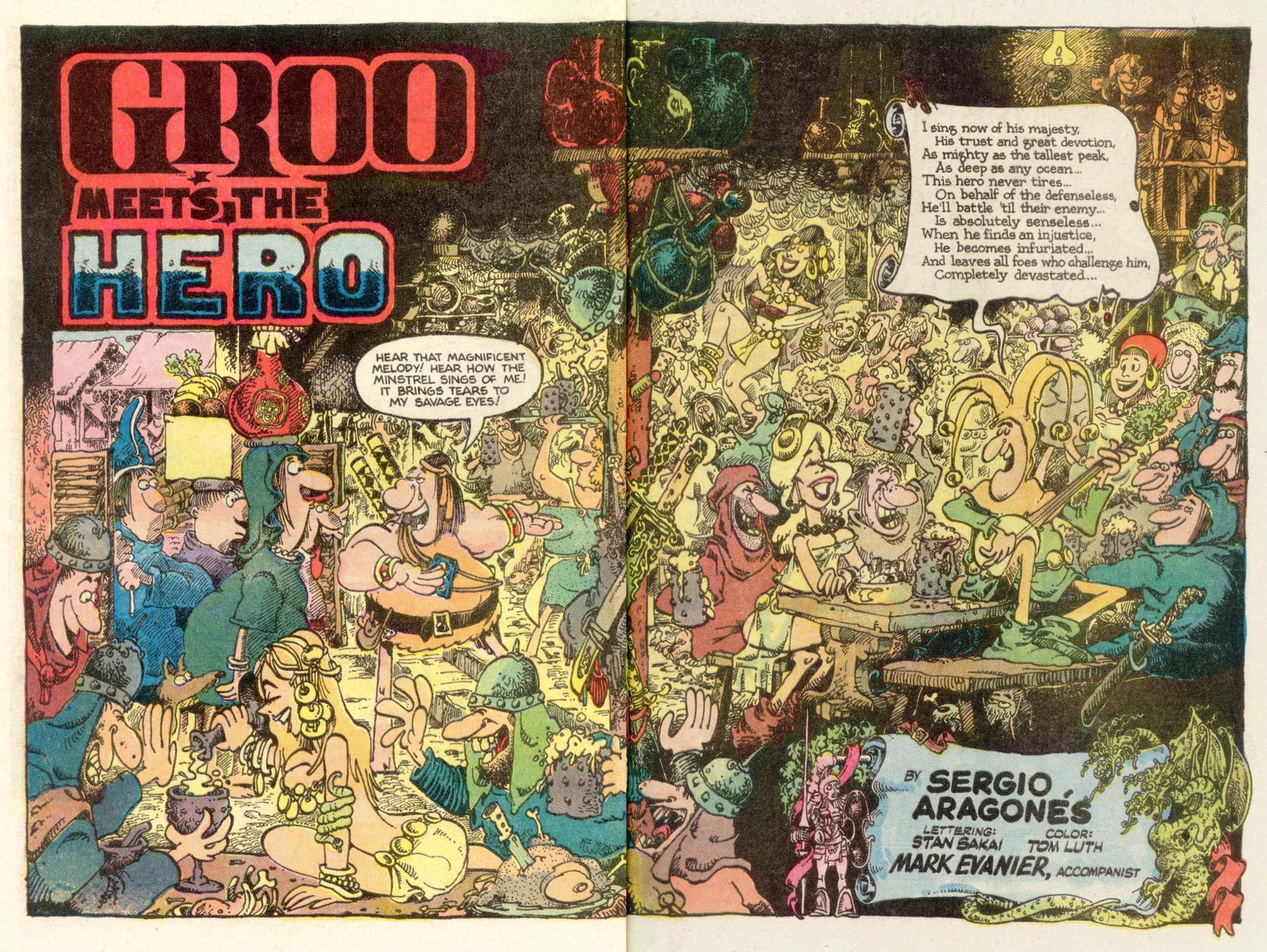 Read online Sergio Aragonés Groo the Wanderer comic -  Issue #10 - 3