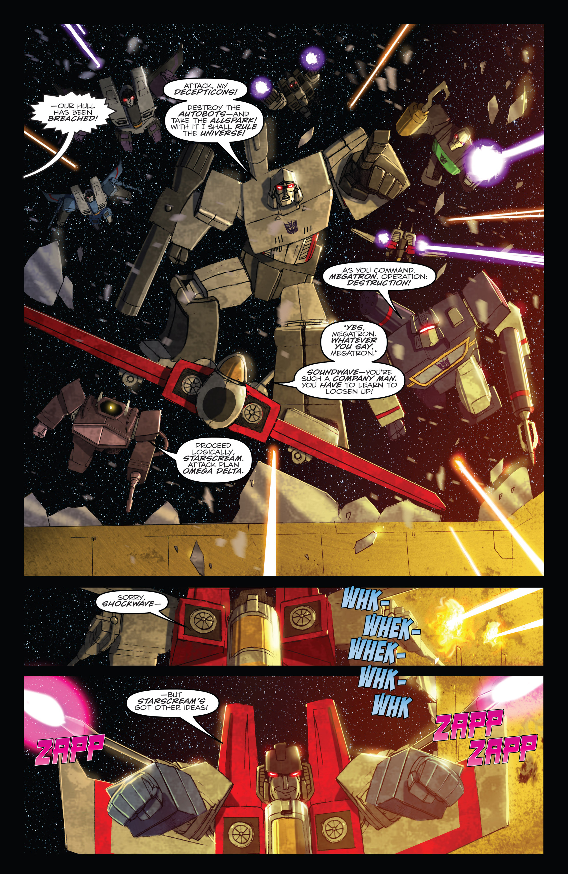 Read online Angry Birds Transformers comic -  Issue #1 - 4