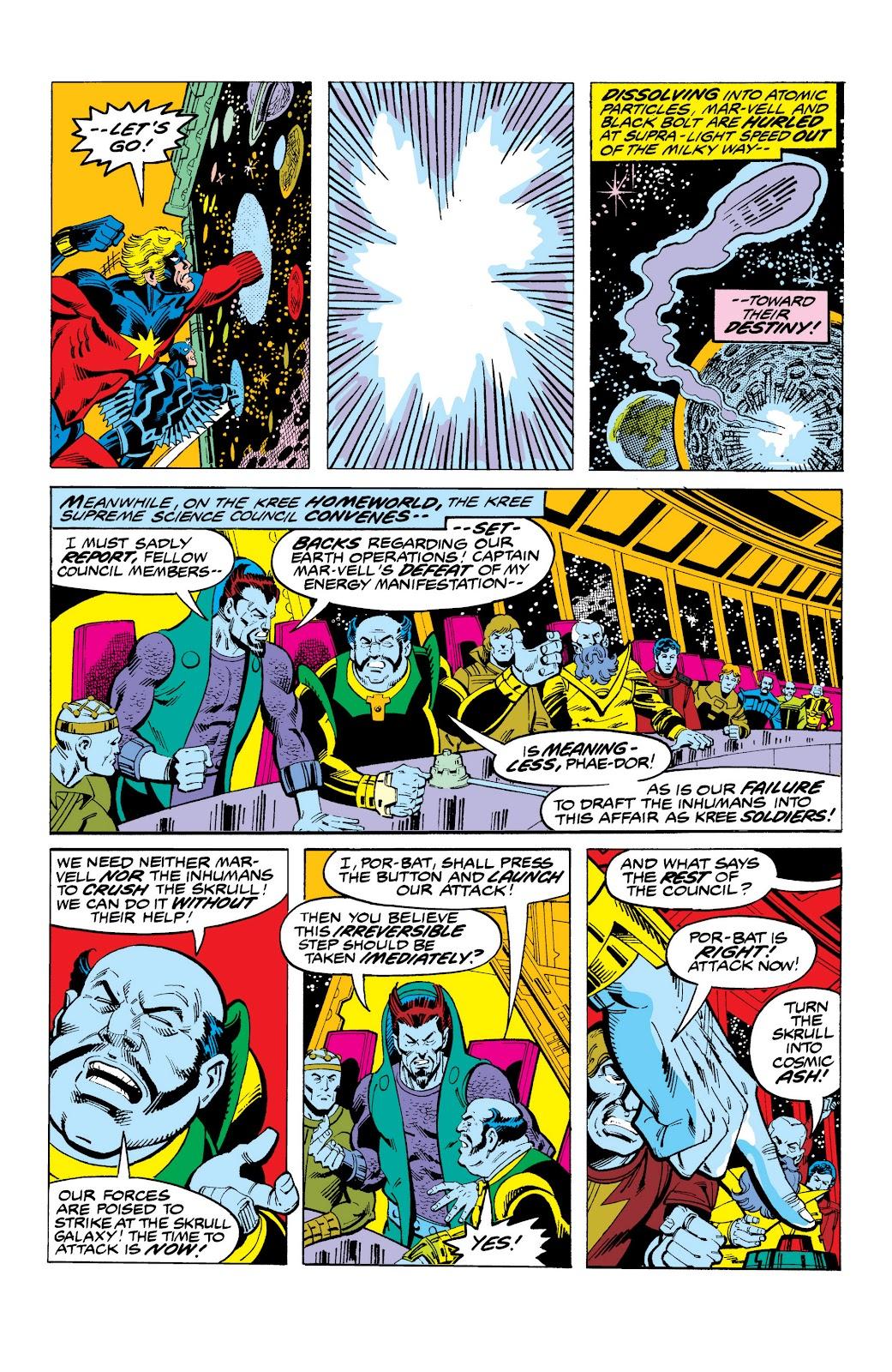 Read online Marvel Masterworks: The Inhumans comic -  Issue # TPB 2 (Part 3) - 37