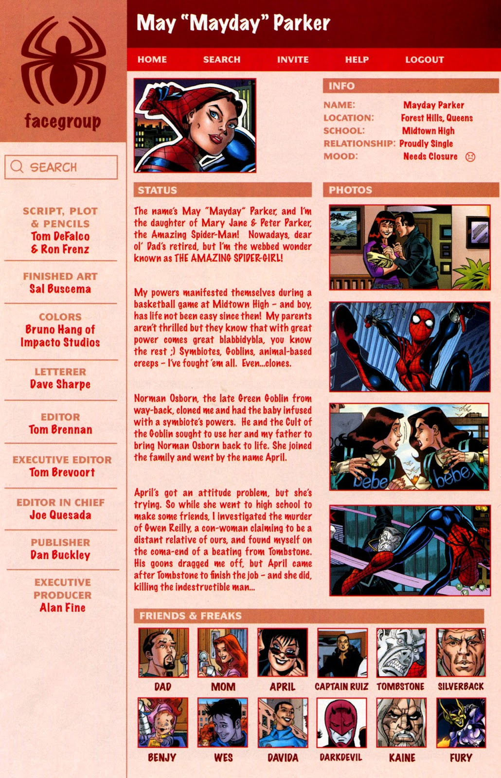 Web of Spider-Man (2009) Issue #1 #1 - English 22