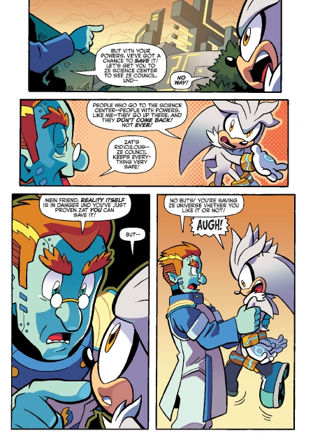 Read online Sonic Comics Spectacular: Speed of Sound comic -  Issue # Full - 118