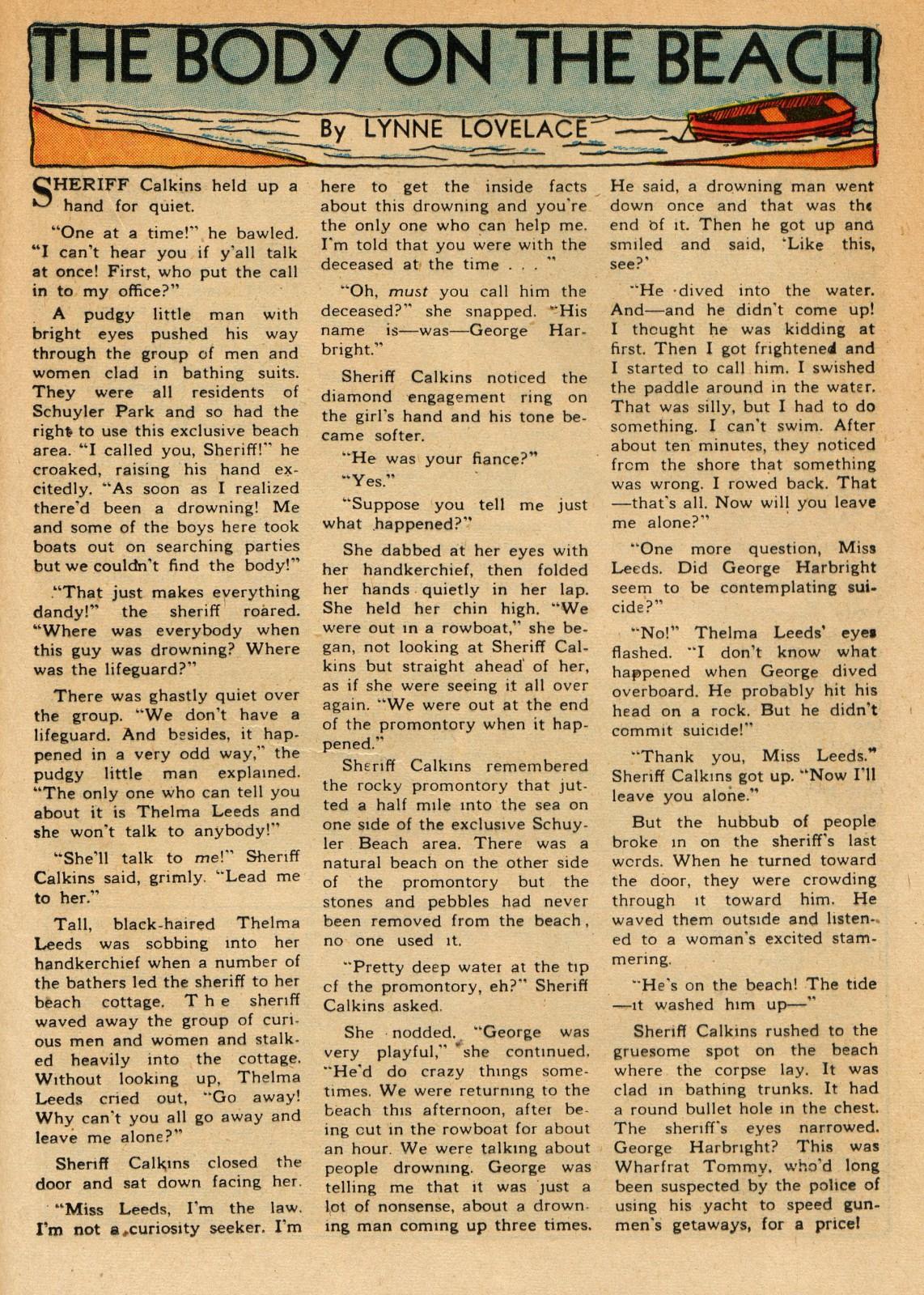 Read online Sensation (Mystery) Comics comic -  Issue #51 - 31