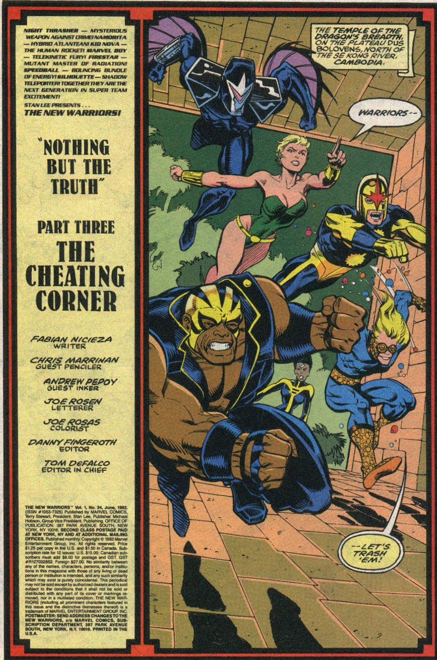 The New Warriors Issue #24 #28 - English 2