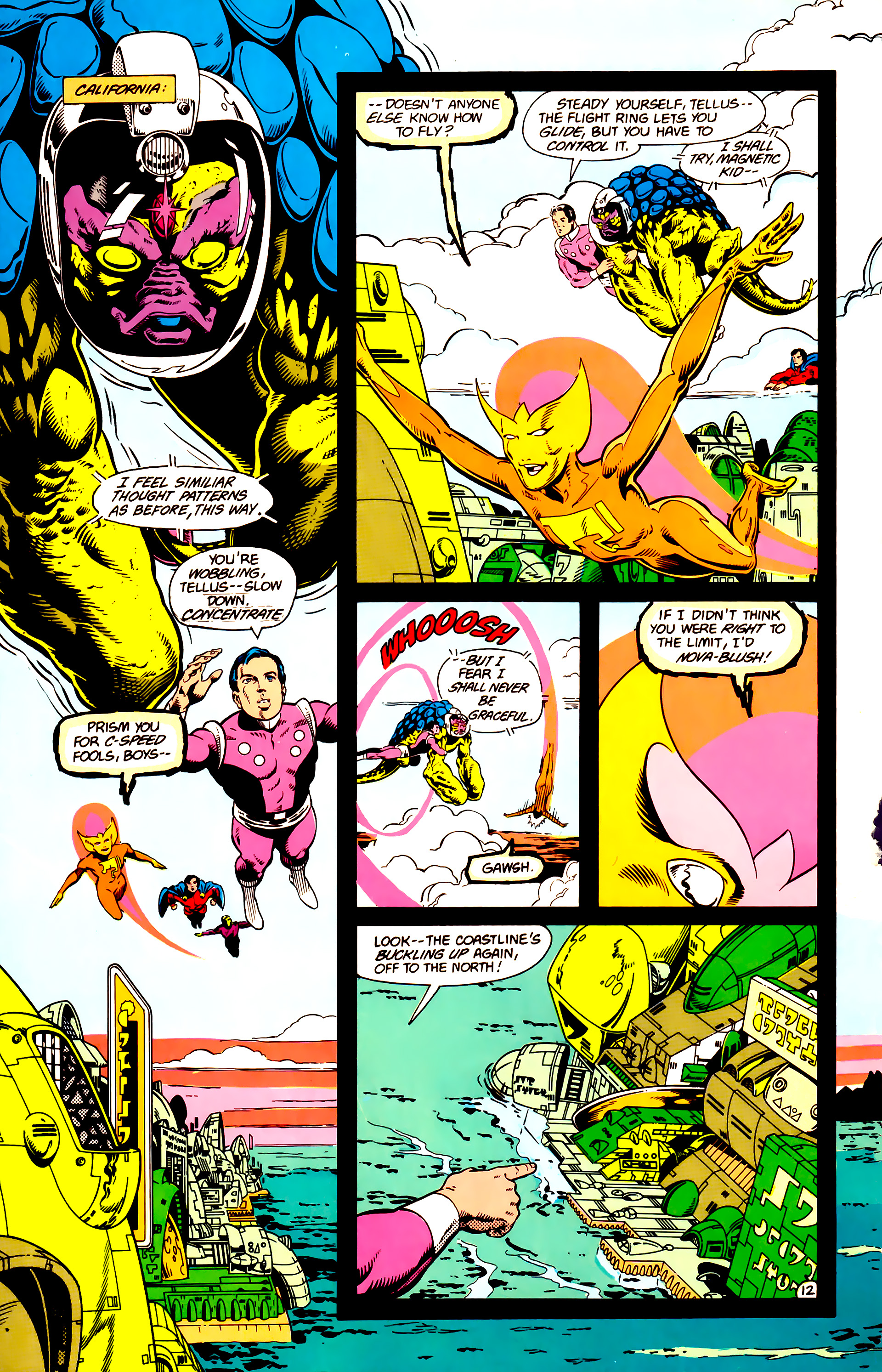 Legion of Super-Heroes (1984) 14 Page 13