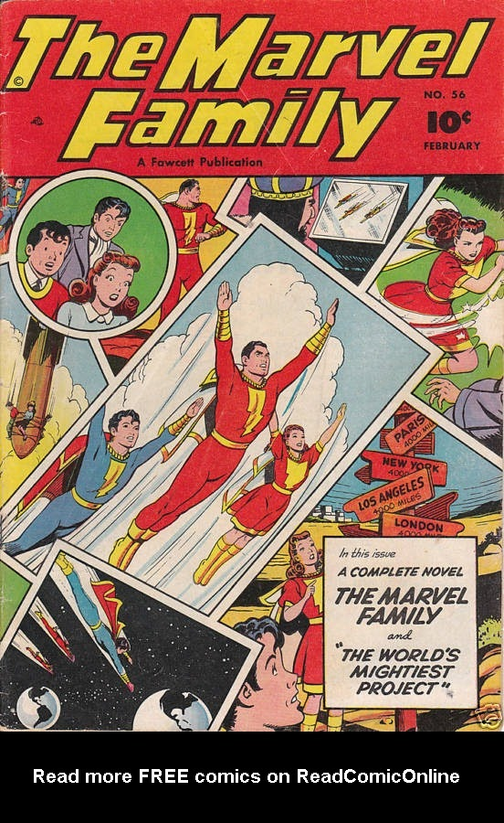The Marvel Family 56 Page 1