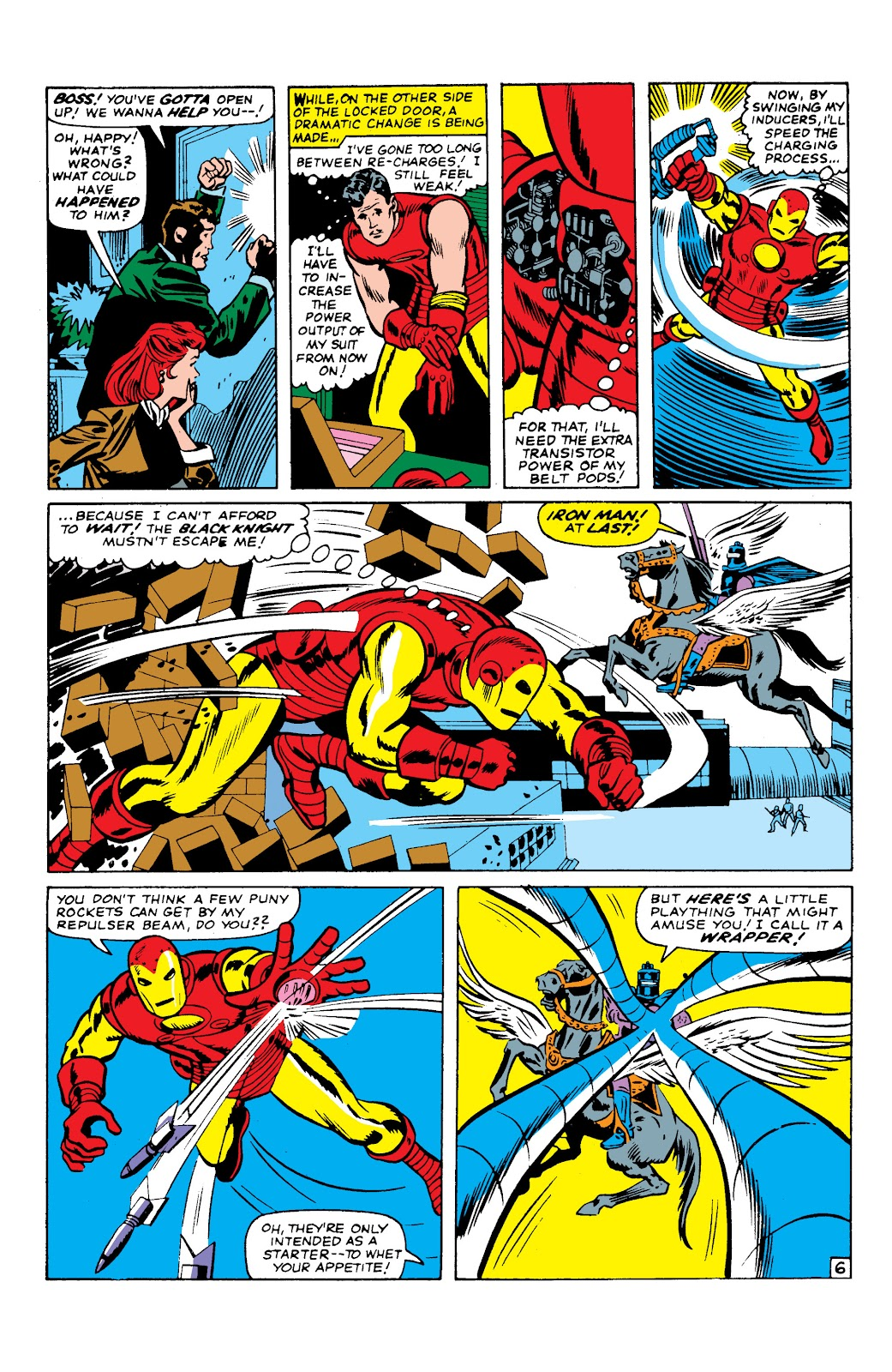 Read online Marvel Masterworks: The Invincible Iron Man comic -  Issue # TPB 2 (Part 2) - 47