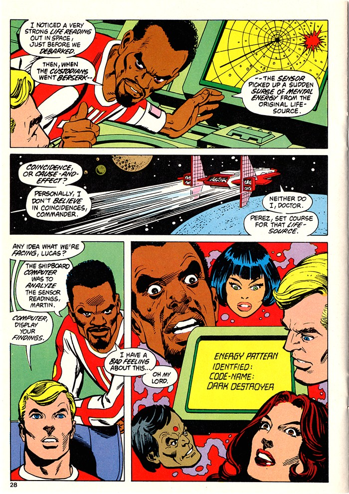 Read online Atari Force (1982) comic -  Issue #5 - 30
