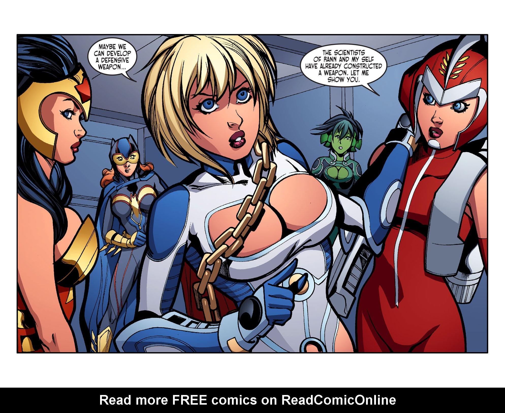 Read online Ame-Comi Girls comic -  Issue #16 - 16