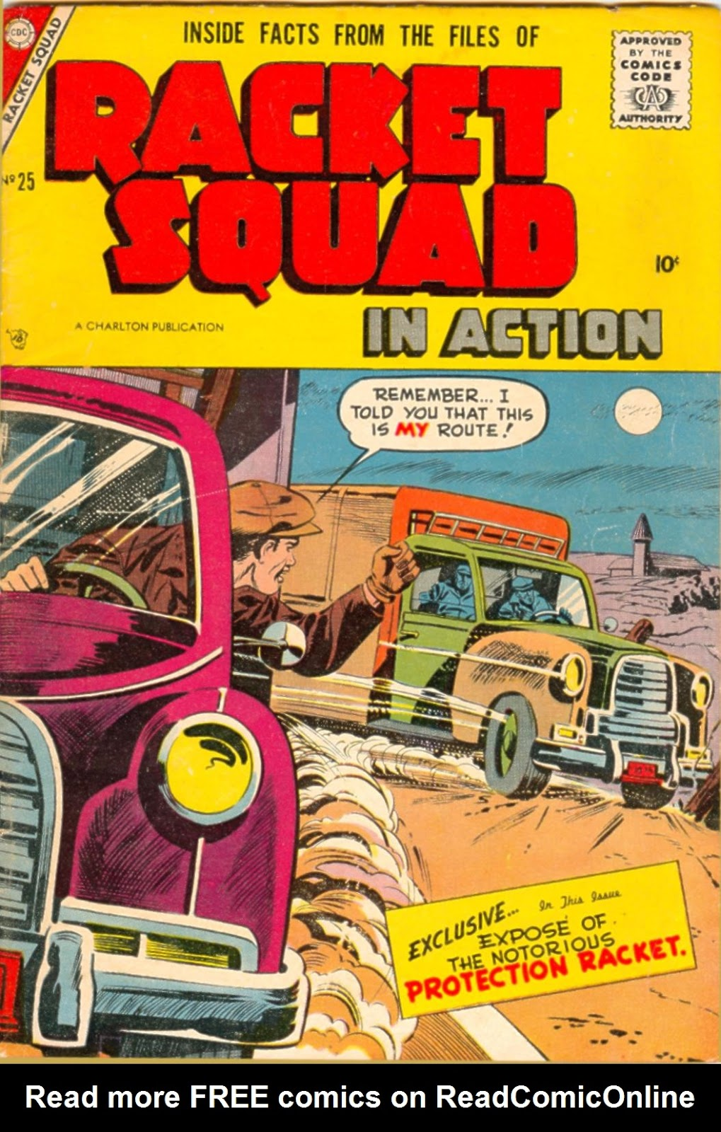 Read online Racket Squad in Action comic -  Issue #25 - 1