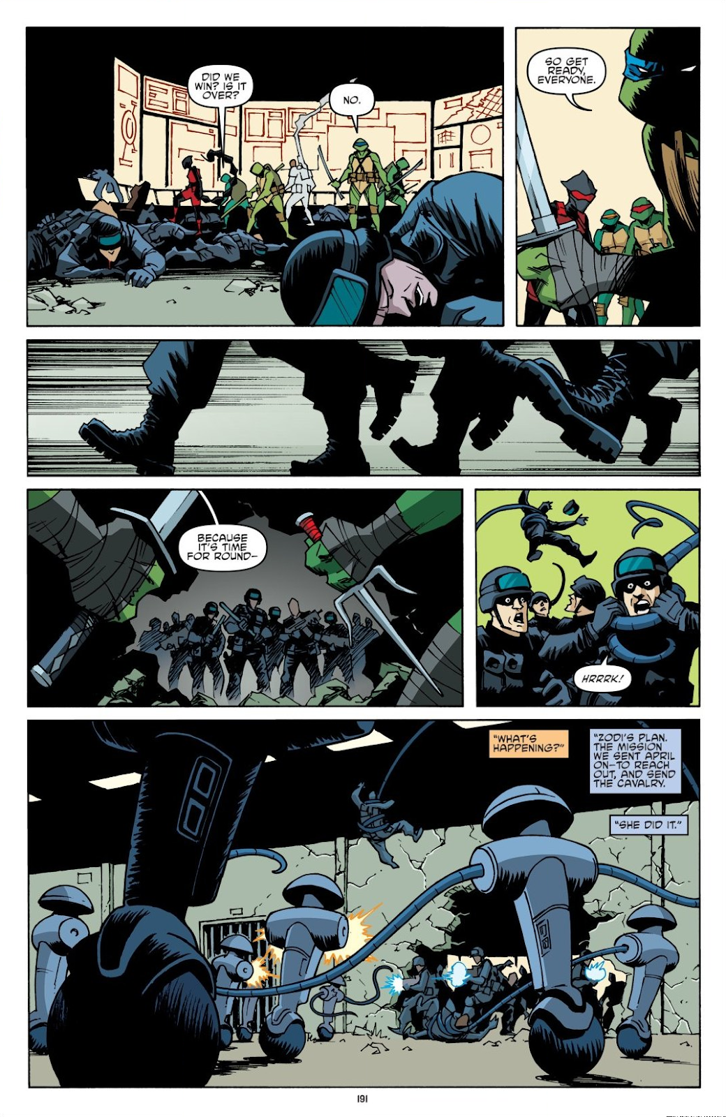Read online Teenage Mutant Ninja Turtles: The IDW Collection comic -  Issue # TPB 8 (Part 2) - 90