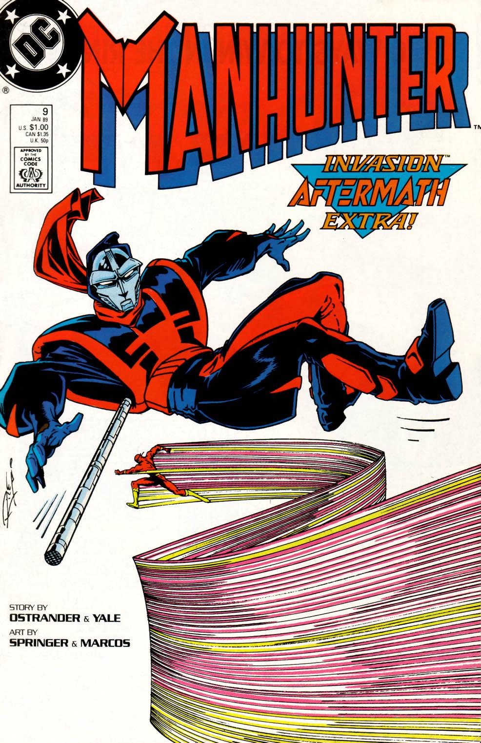 Manhunter (1988) issue 9 - Page 1