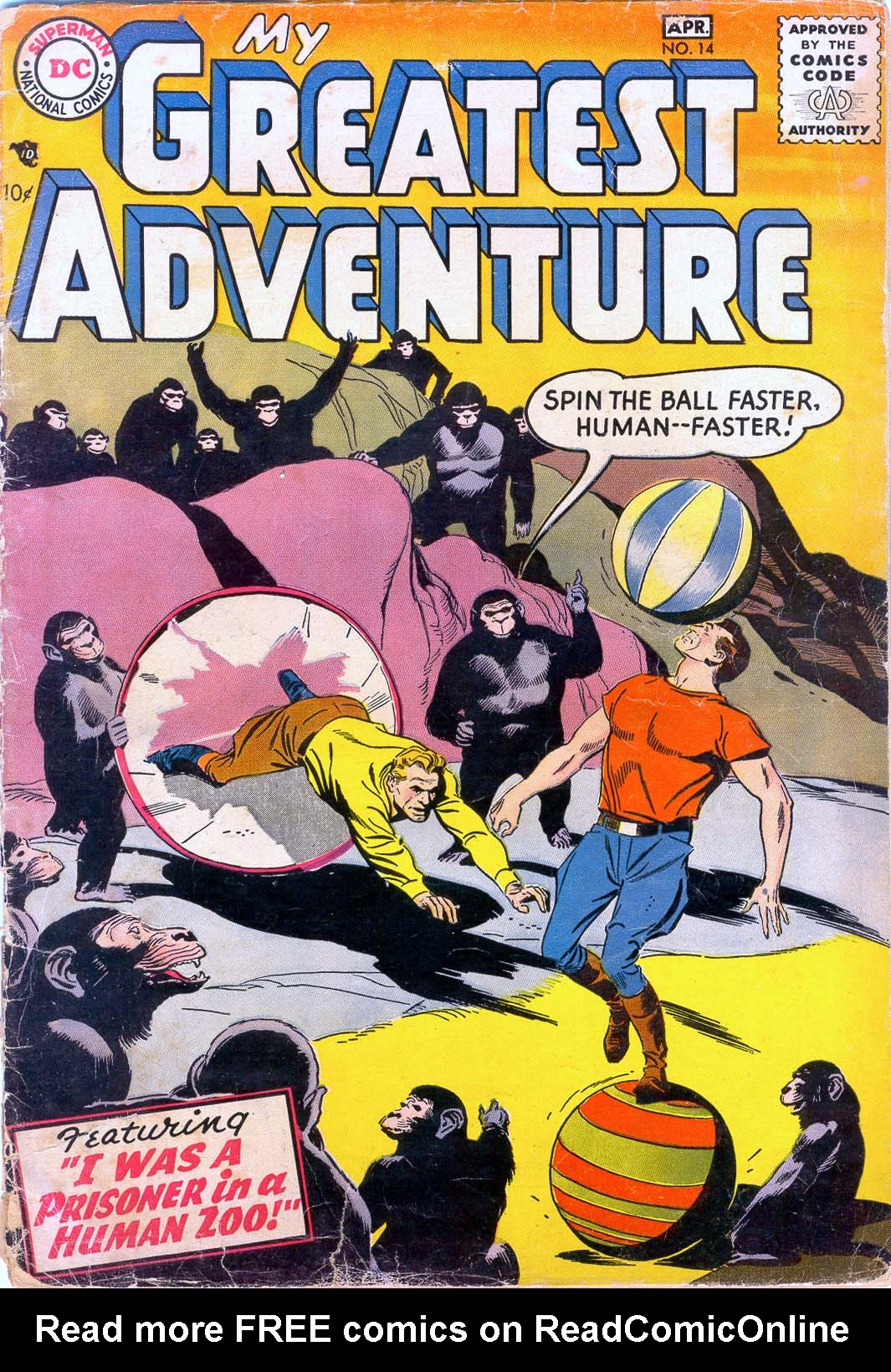 My Greatest Adventure (1955) 14 Page 1