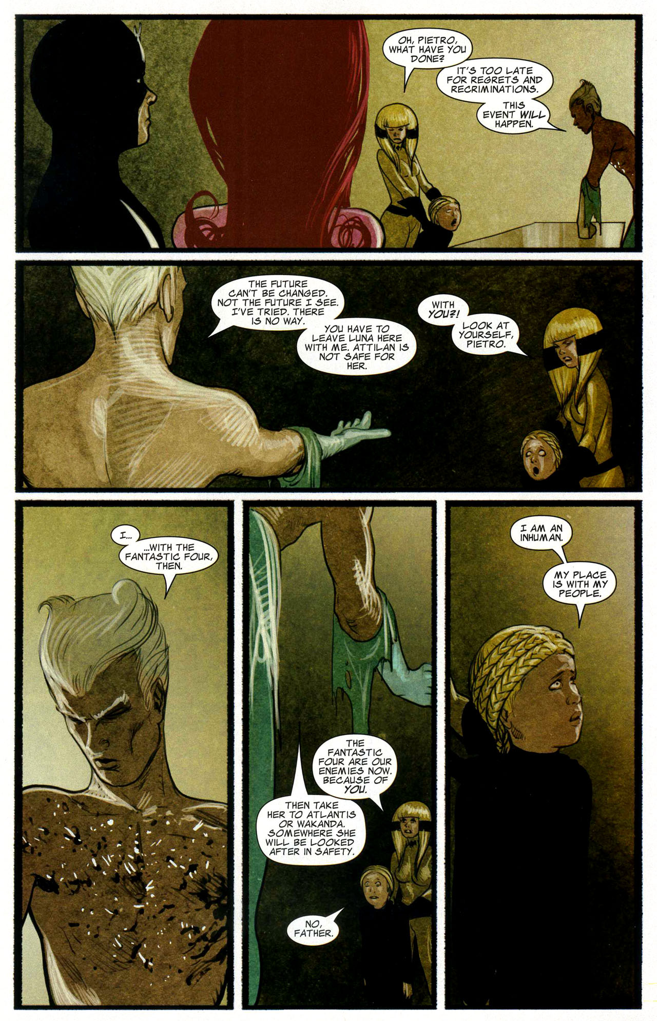 Read online Silent War comic -  Issue #3 - 16