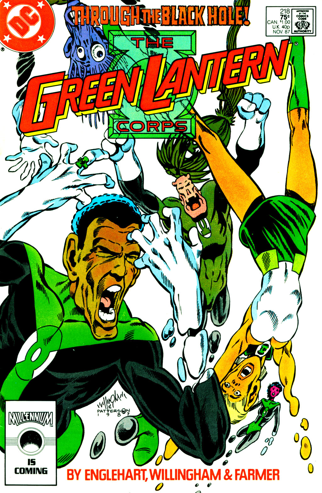 The Green Lantern Corps 218 Page 1