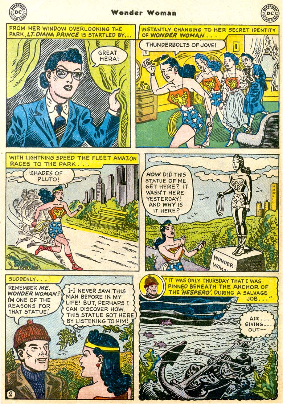 Read online Wonder Woman (1942) comic -  Issue #91 - 28