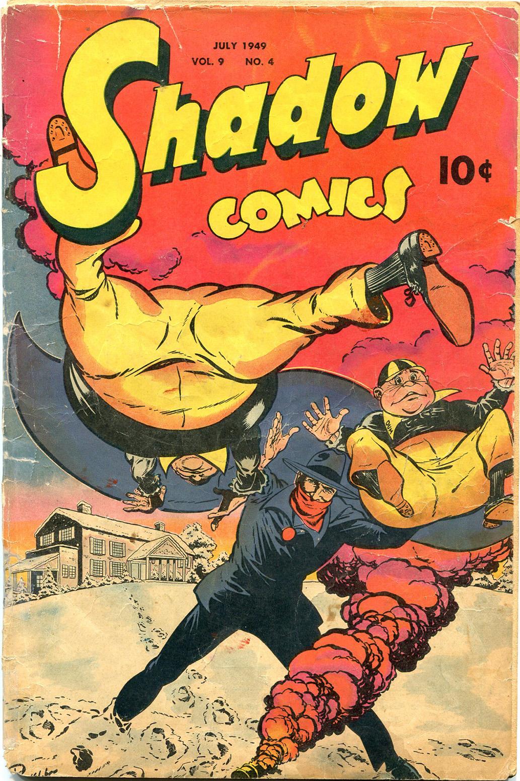 Read online Shadow Comics comic -  Issue #100 - 1