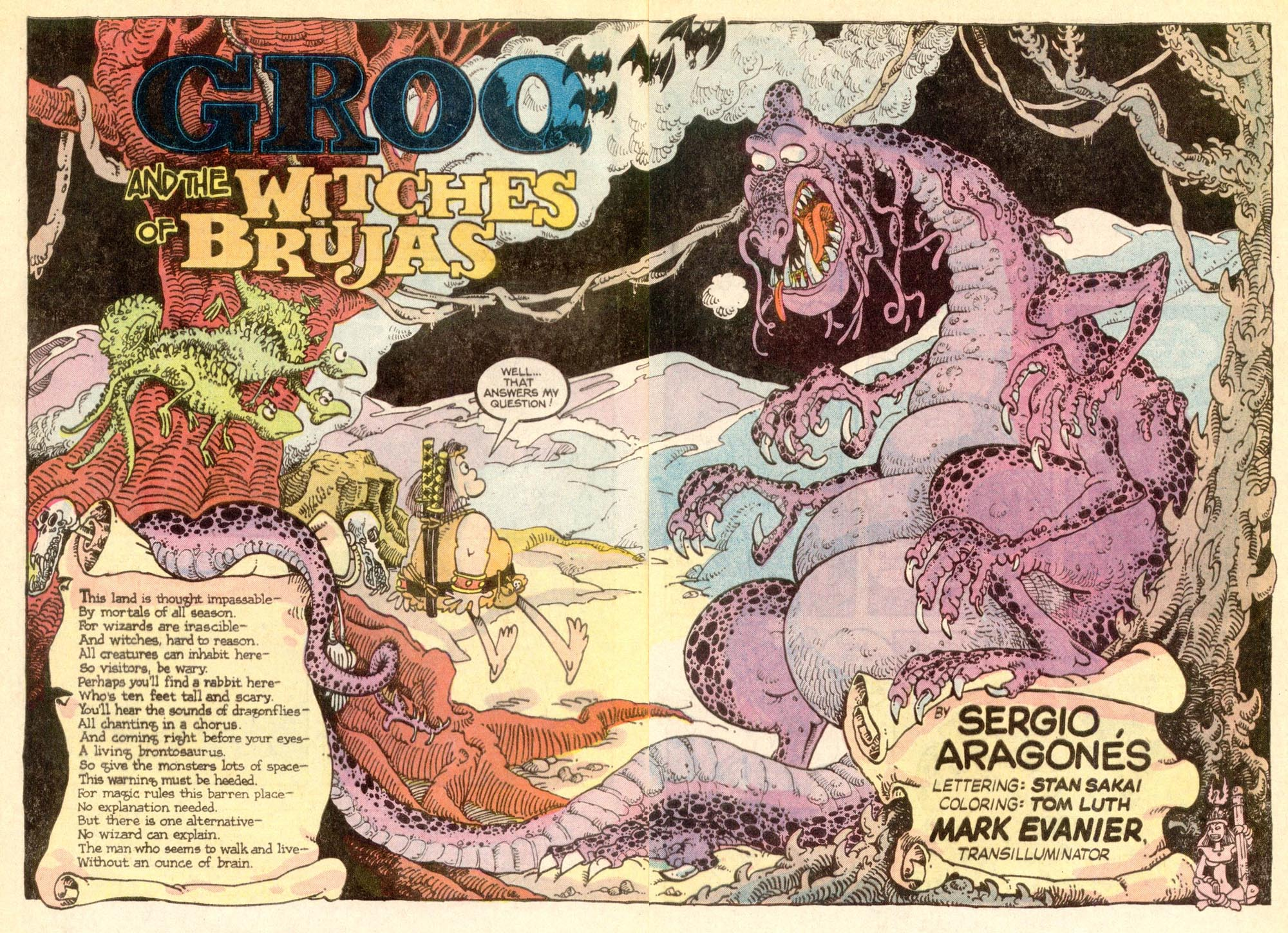 Read online Sergio Aragonés Groo the Wanderer comic -  Issue #21 - 3