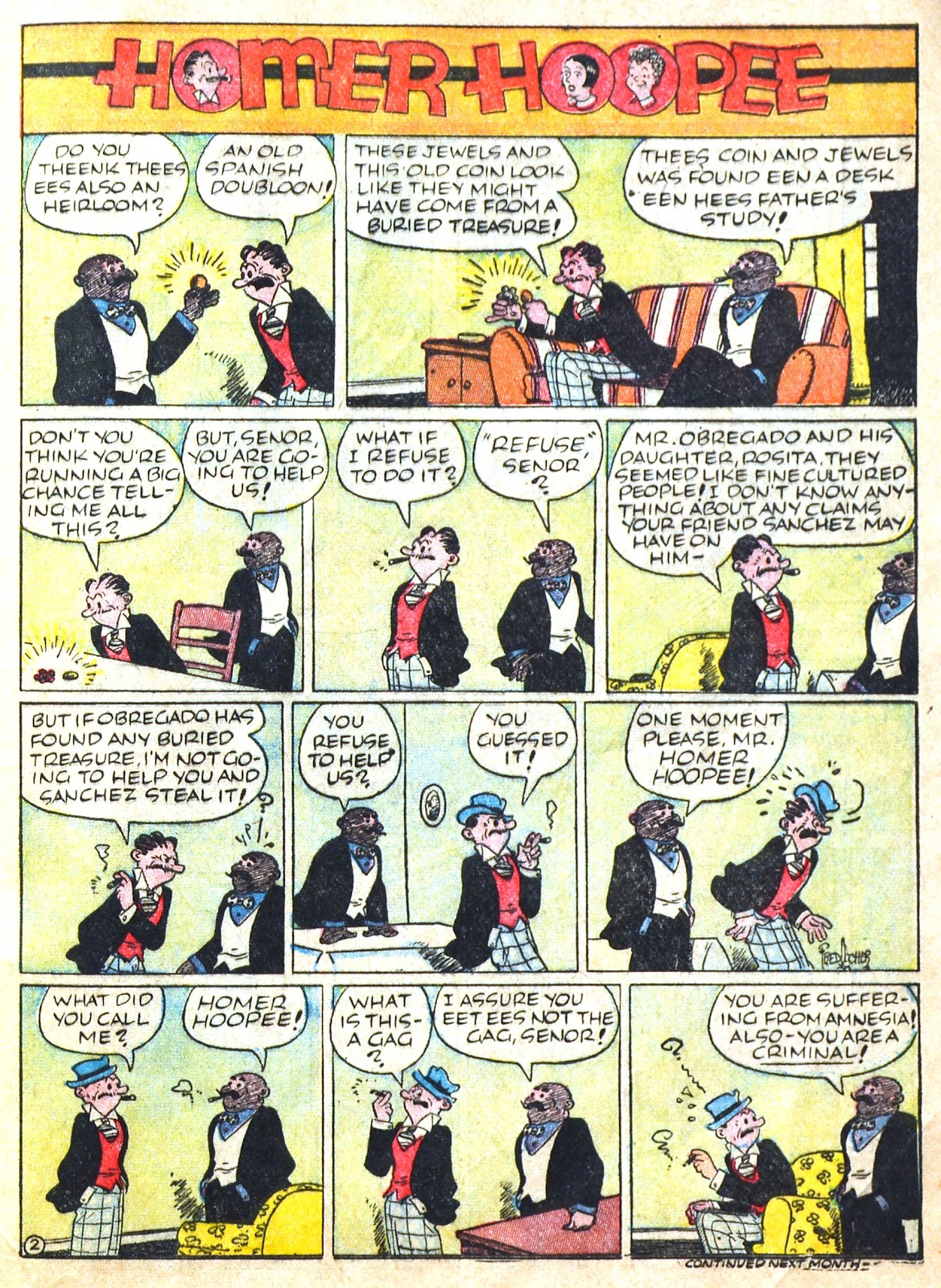 Read online Famous Funnies comic -  Issue #51 - 62