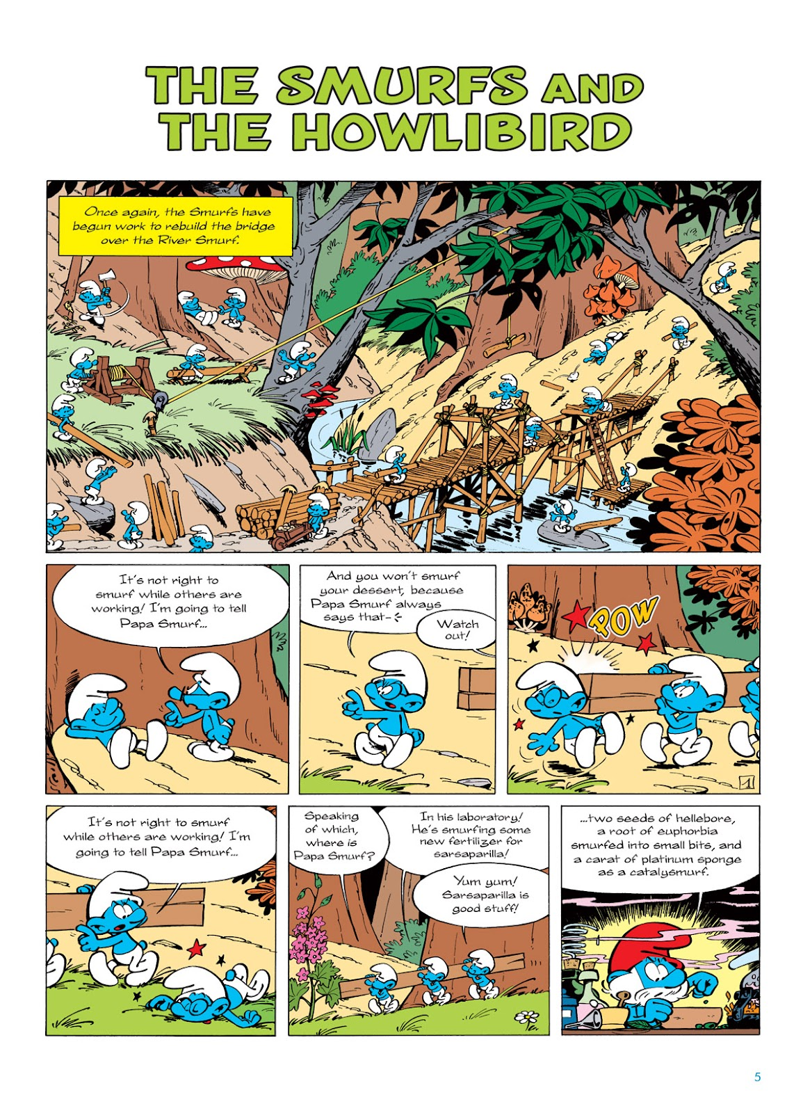 Read online The Smurfs comic -  Issue #6 - 5