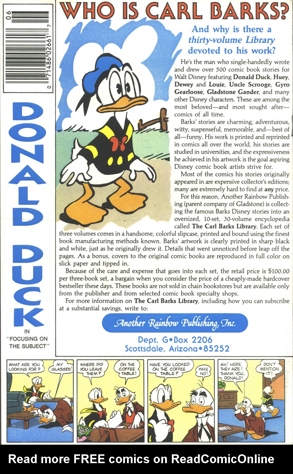 Read online Uncle Scrooge (1953) comic -  Issue #218 - 36