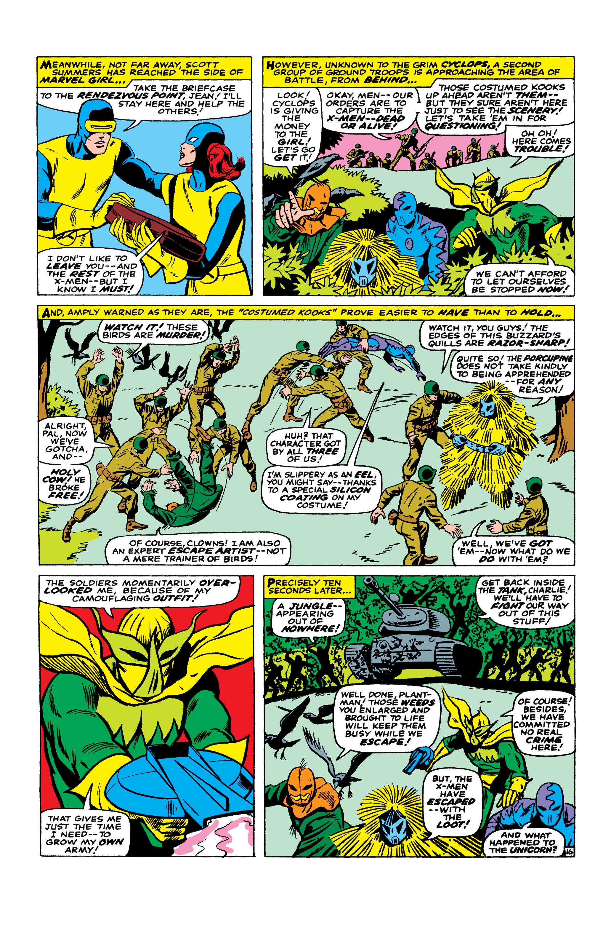 Read online Uncanny X-Men (1963) comic -  Issue #23 - 17