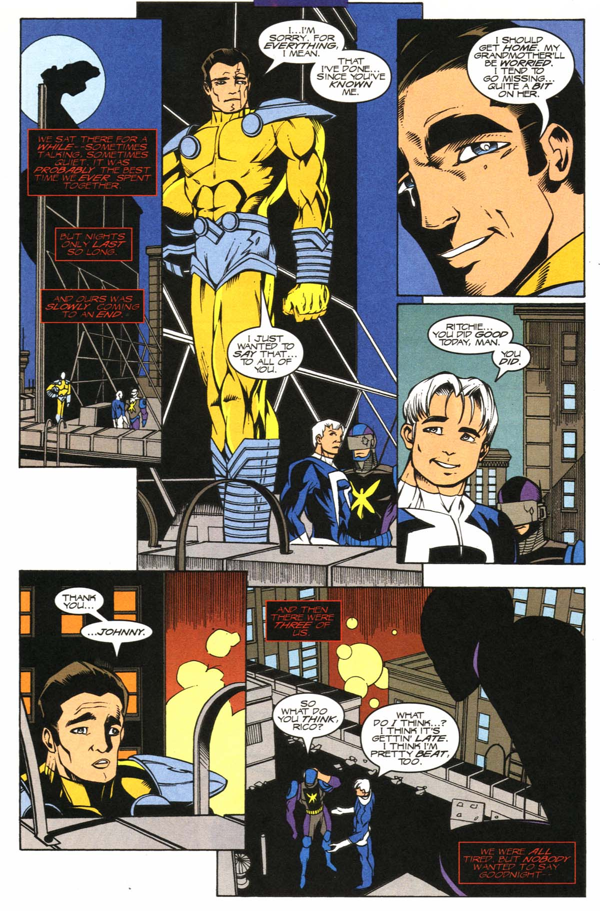 Read online Slingers comic -  Issue #12 - 28