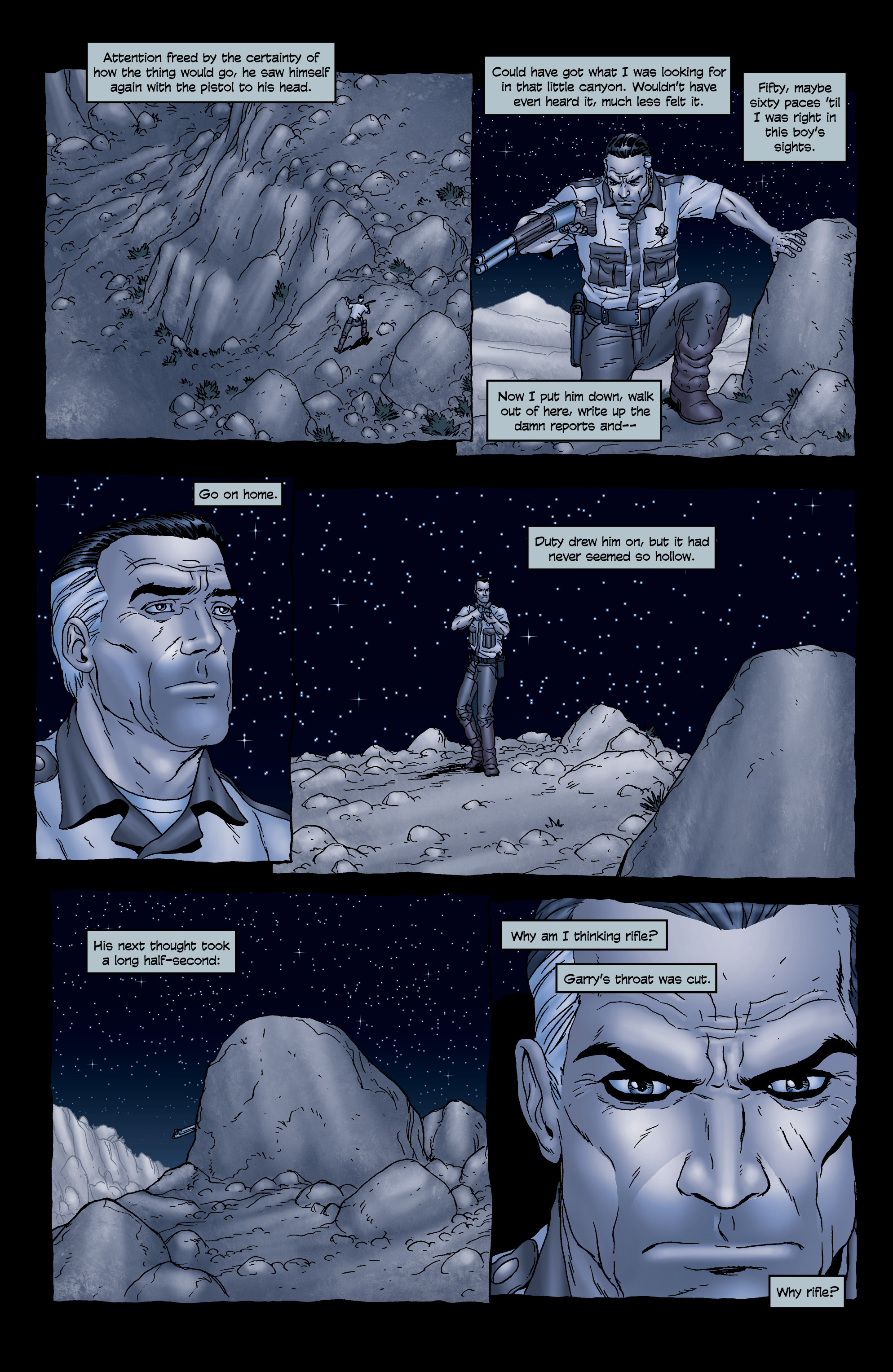 Read online 303 comic -  Issue #5 - 16