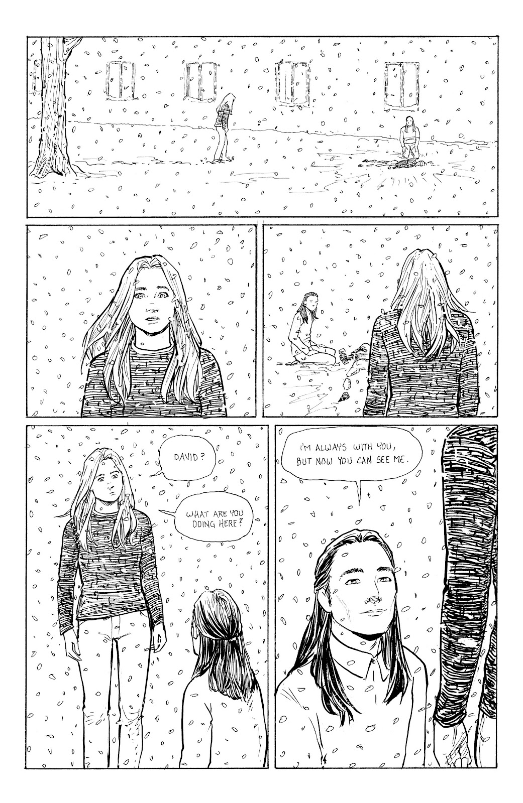 Read online Five Years comic -  Issue #7 - 14