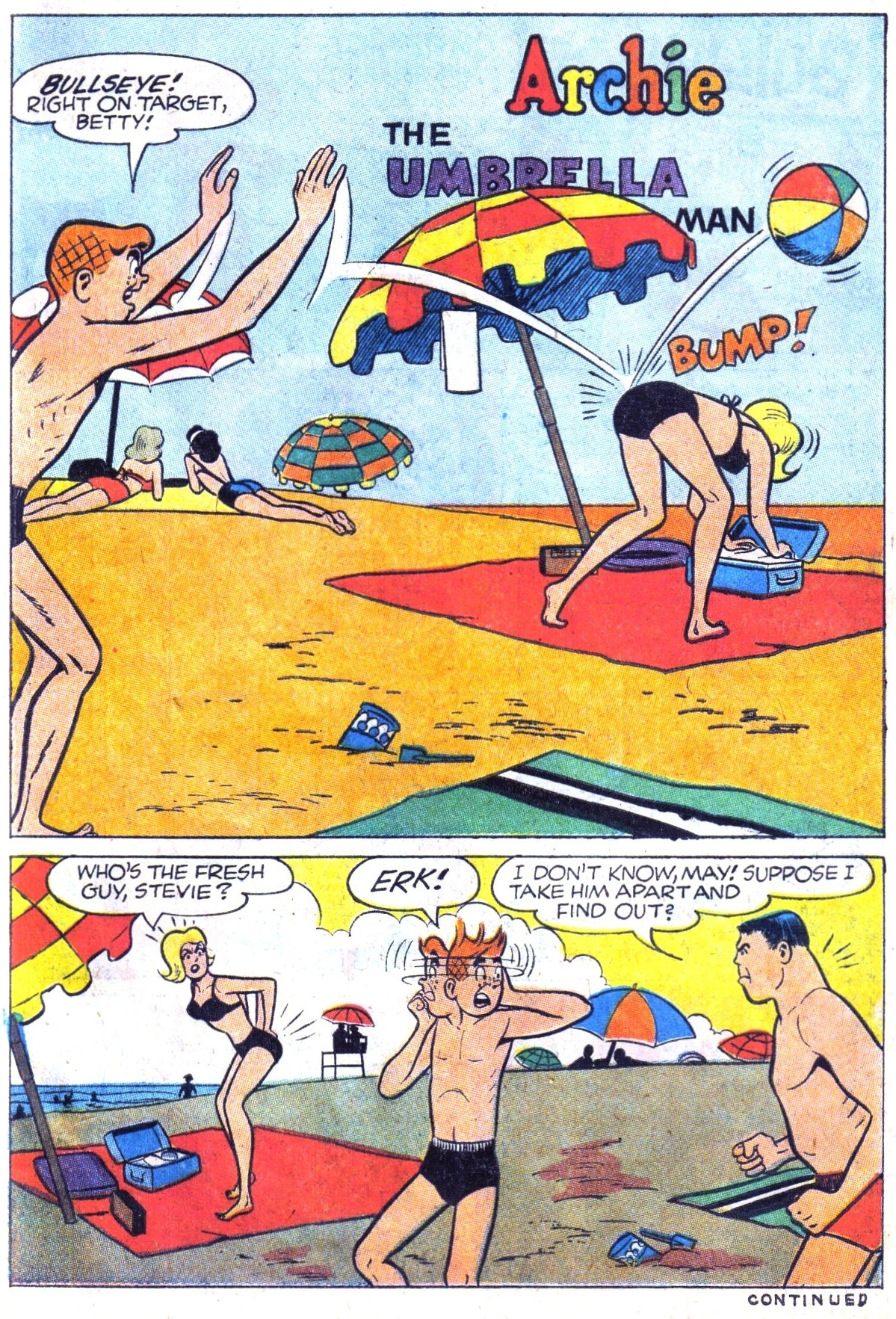 Read online Archie (1960) comic -  Issue #158 - 11