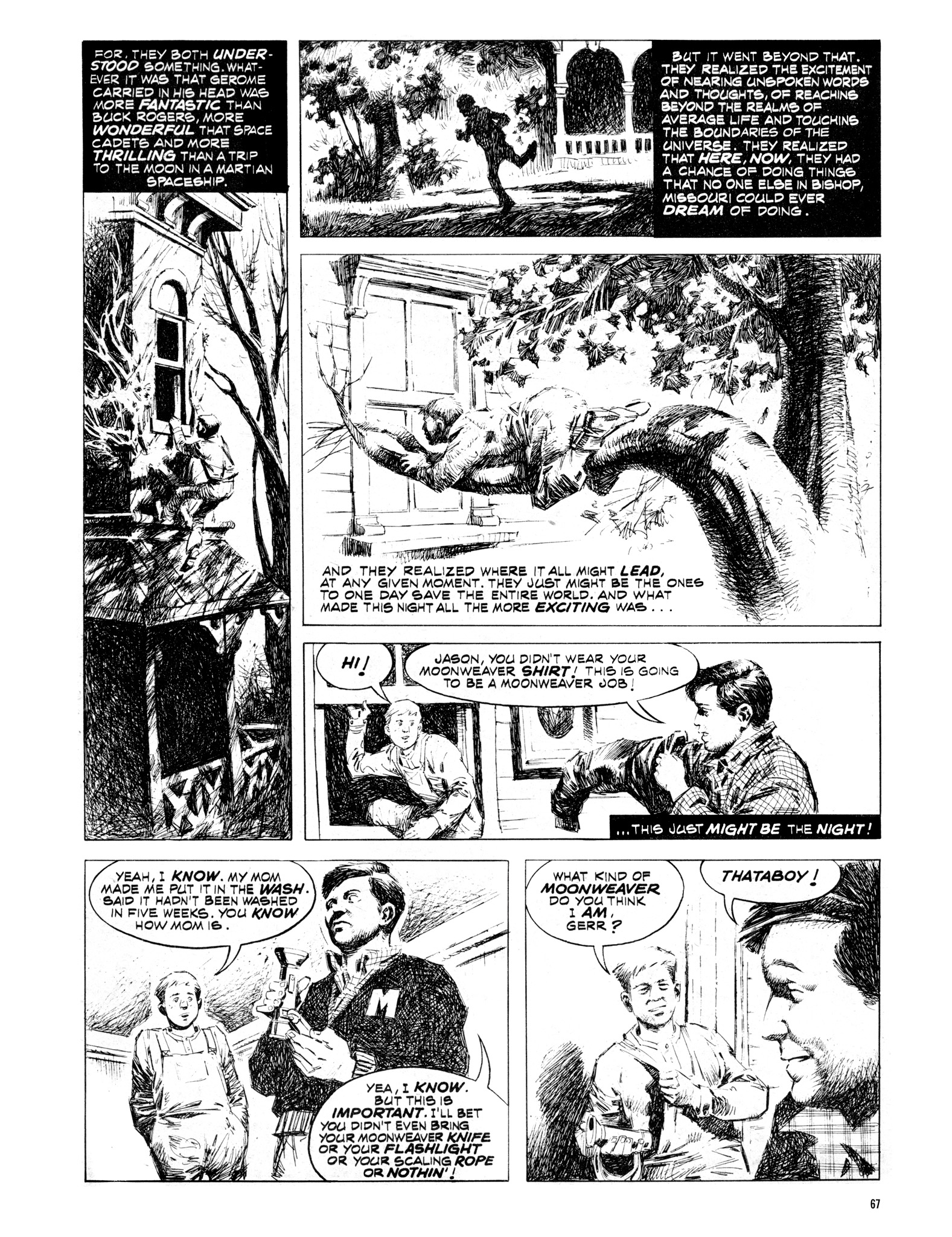Read online Eerie Archives comic -  Issue # TPB 16 - 68
