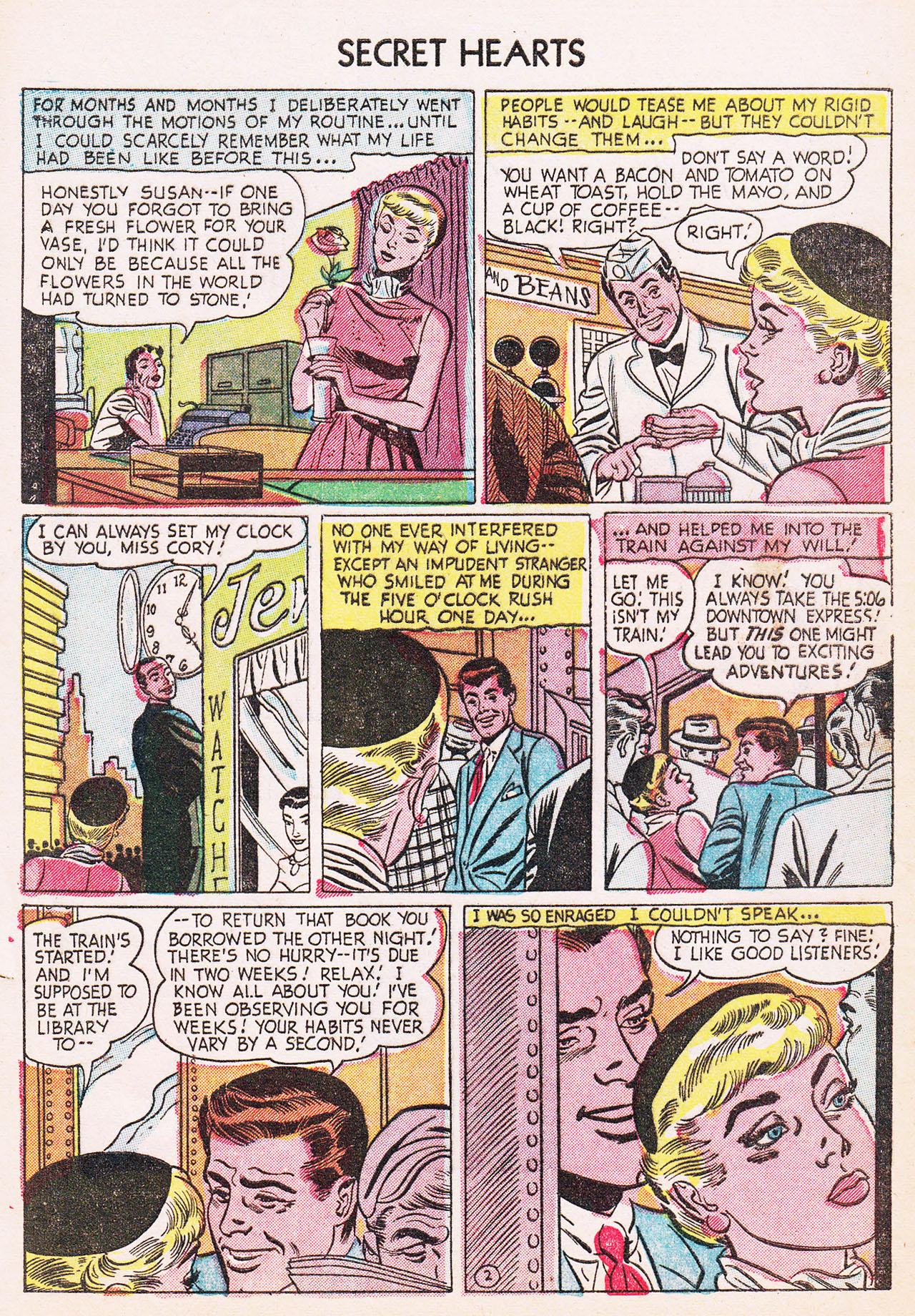 Read online Secret Hearts comic -  Issue #24 - 4