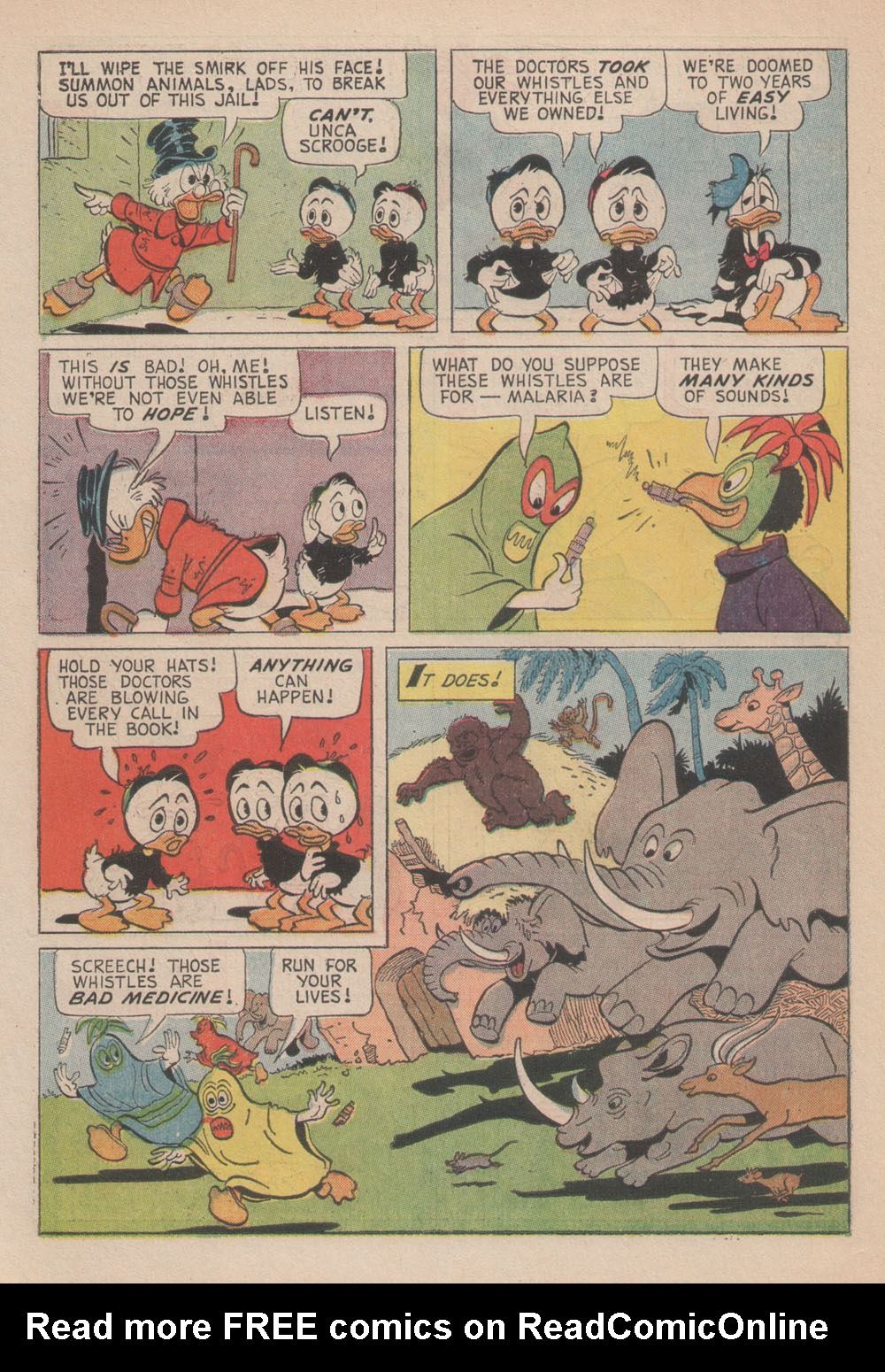 Read online Uncle Scrooge (1953) comic -  Issue #61 - 26