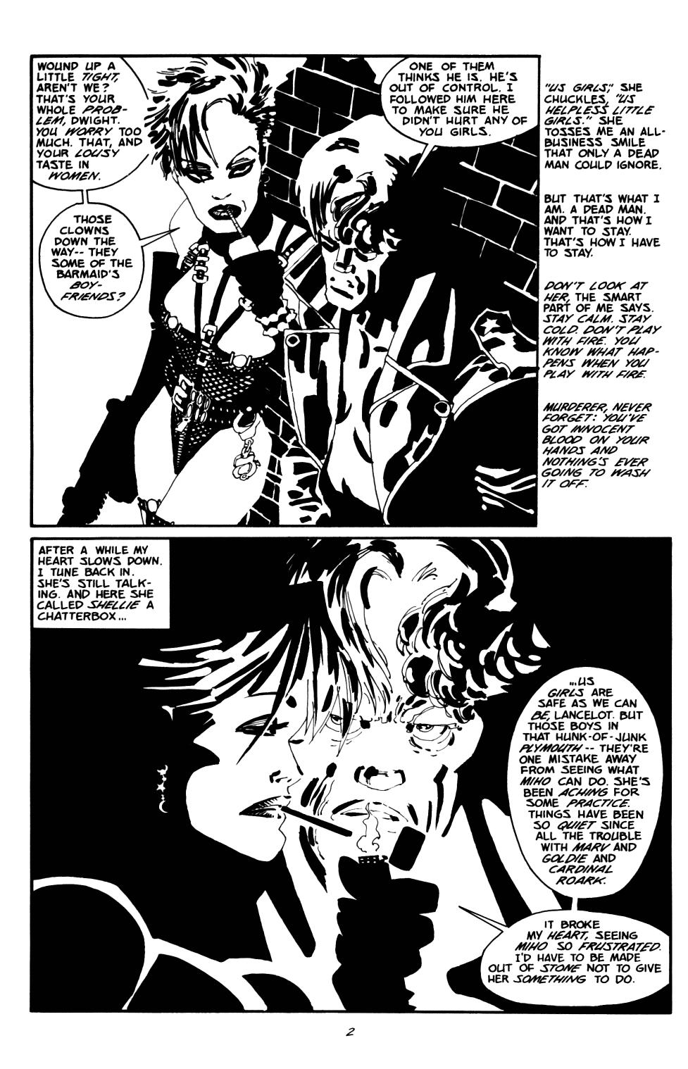 Read online Sin City: The Big Fat Kill comic -  Issue #2 - 3