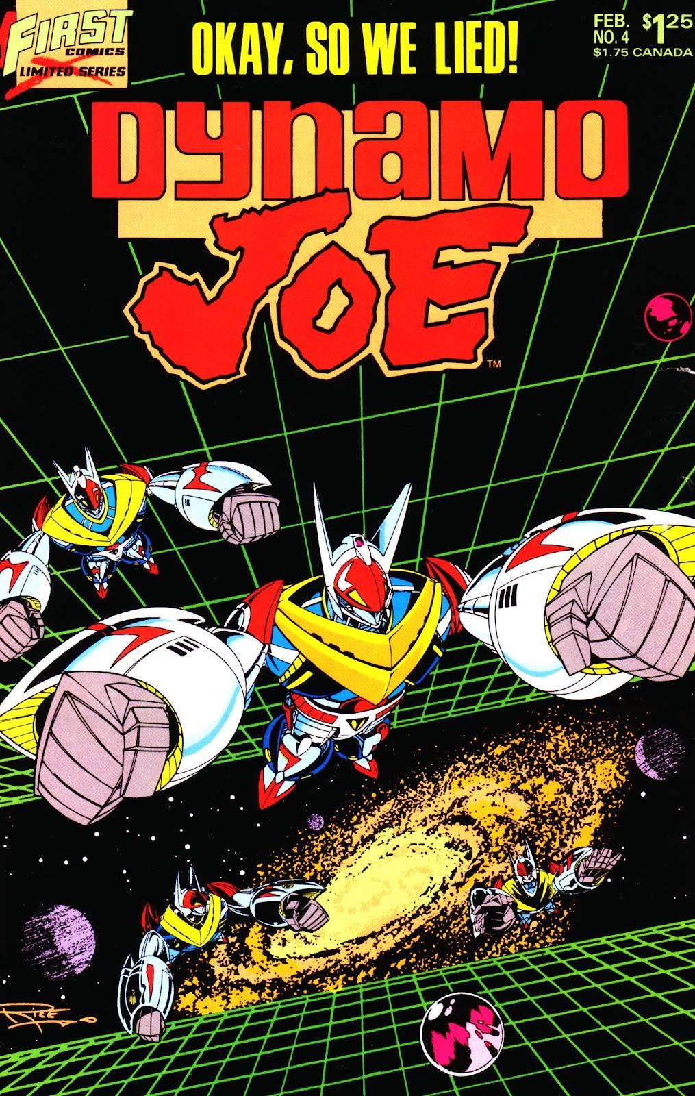 Dynamo Joe issue 4 - Page 1
