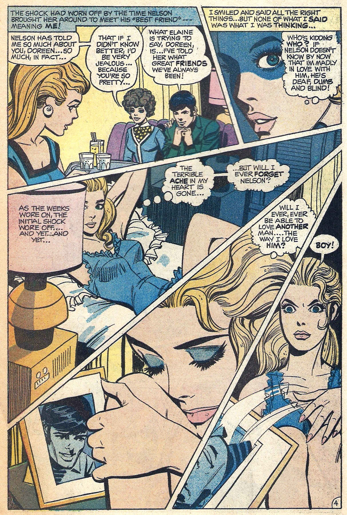 Read online Secret Hearts comic -  Issue #140 - 6