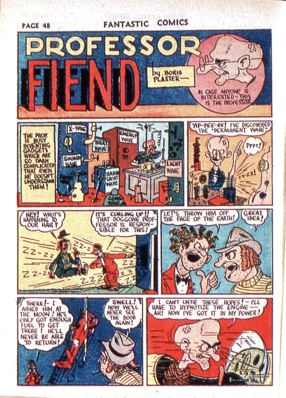 Read online Fantastic Comics comic -  Issue #2 - 49