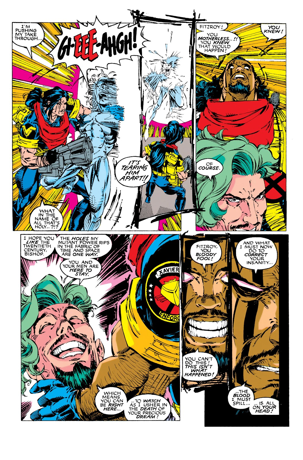 Uncanny X-Men (1963) issue 283 - Page 4