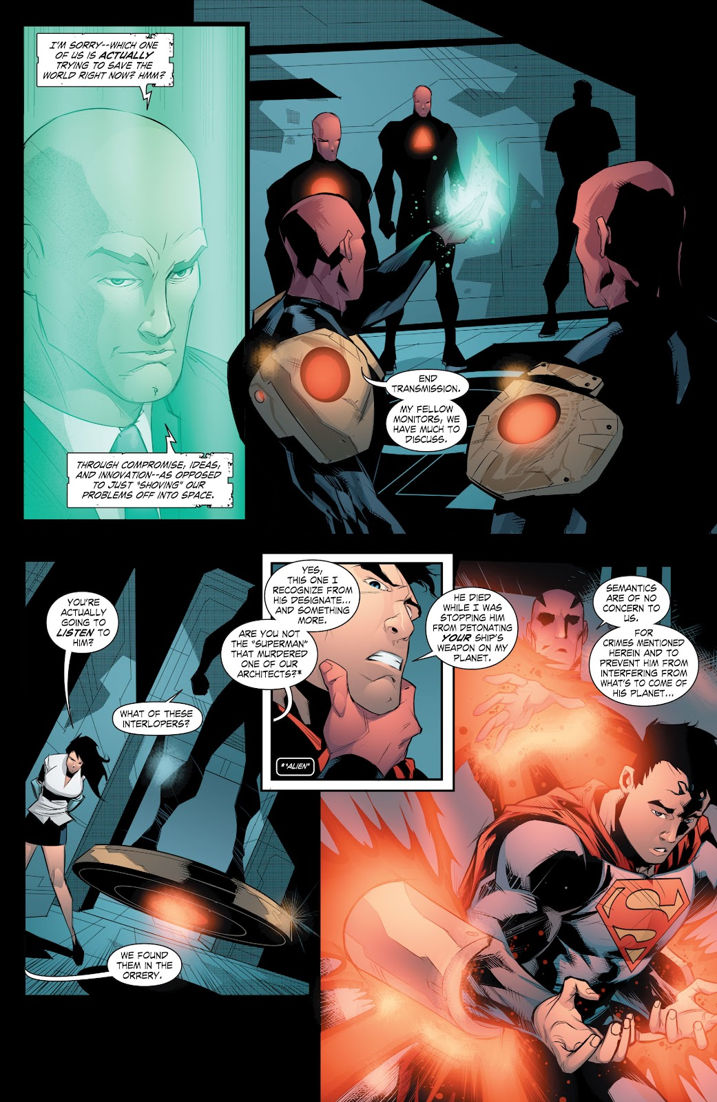 Read online Smallville Season 11 [II] comic -  Issue # TPB 8 - 153