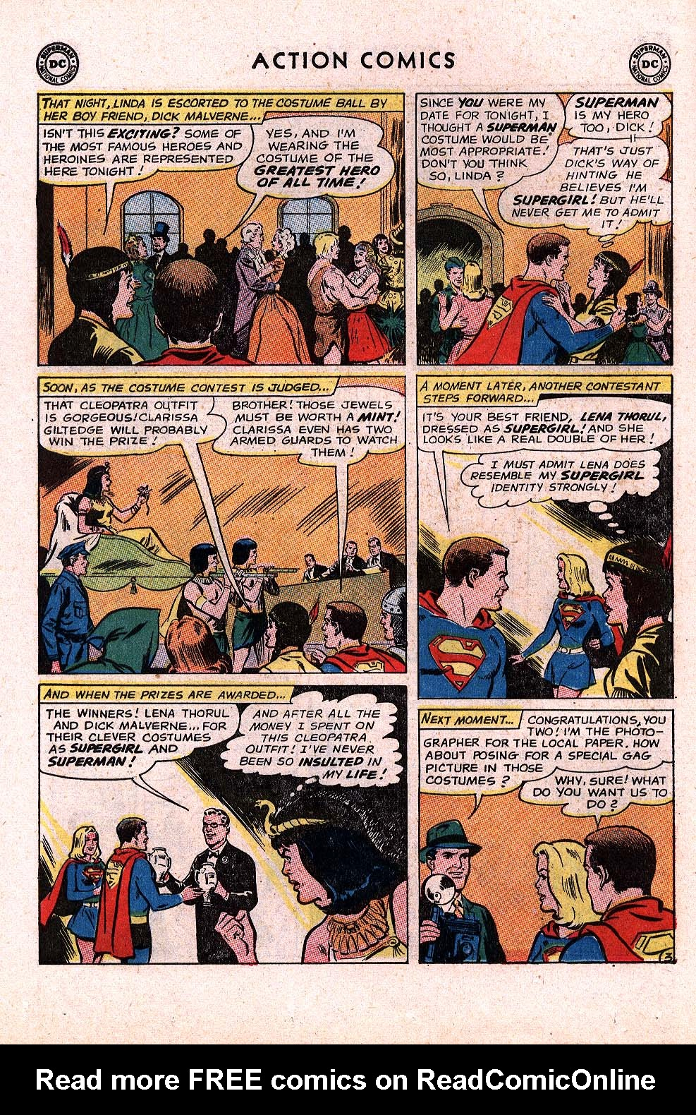 Read online Action Comics (1938) comic -  Issue #296 - 22
