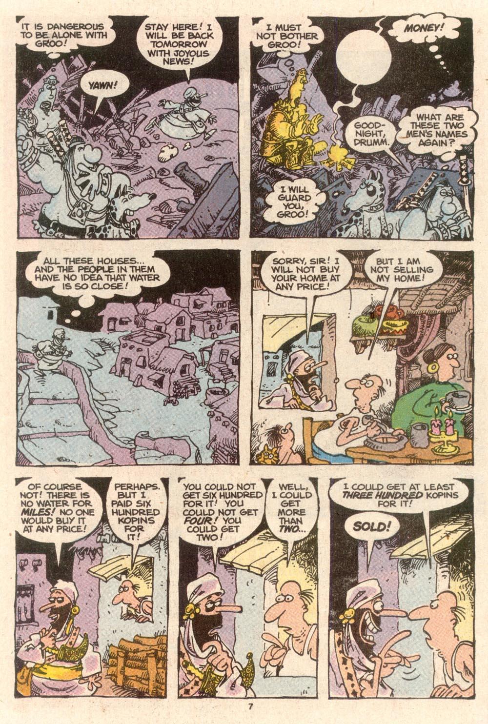 Read online Sergio Aragonés Groo the Wanderer comic -  Issue #63 - 7